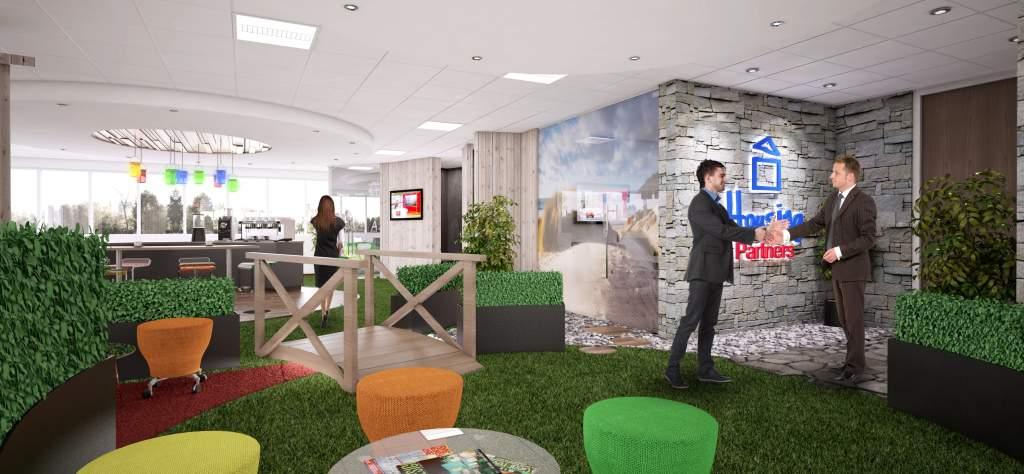 Office design for Housing Partners