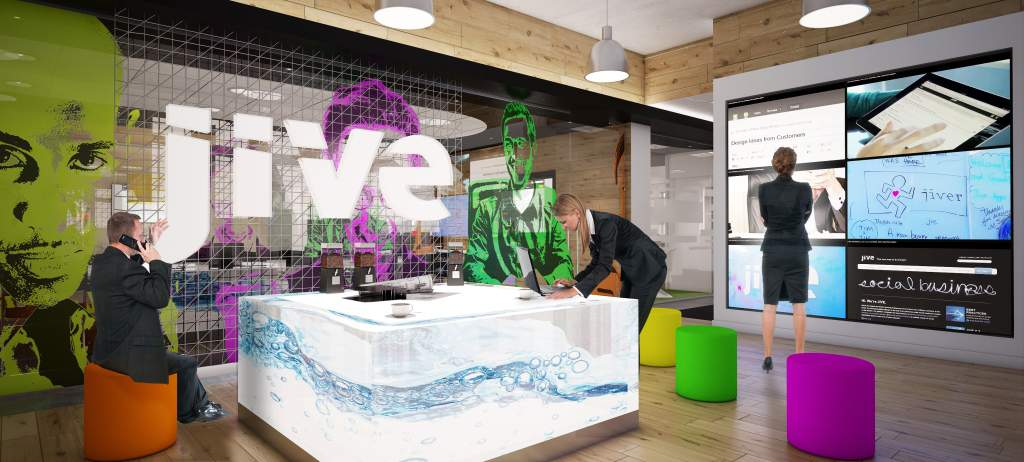 Office design for Jive Software