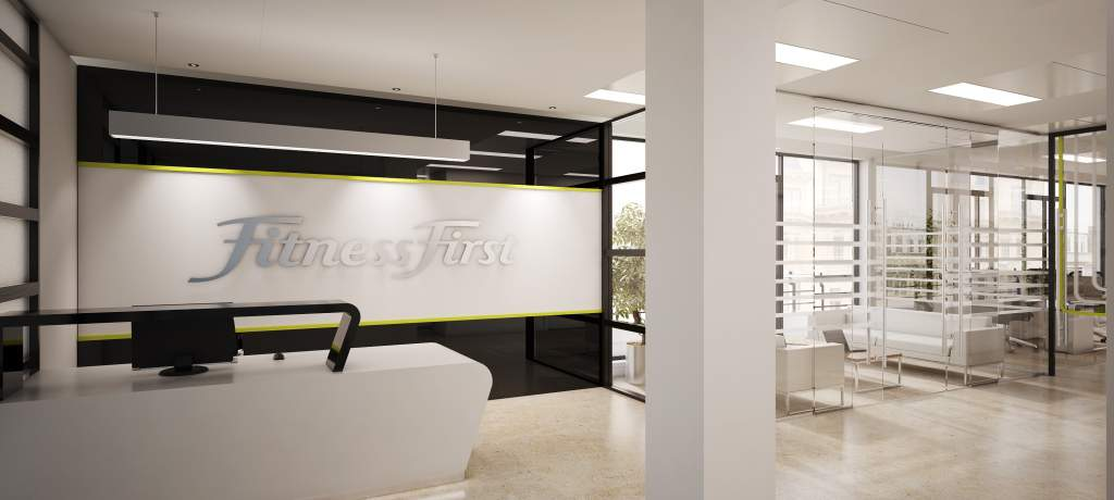 Office refurbishment for Fitness First