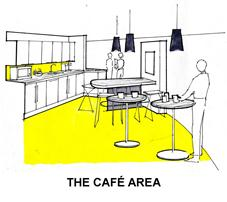 The Cafe Area