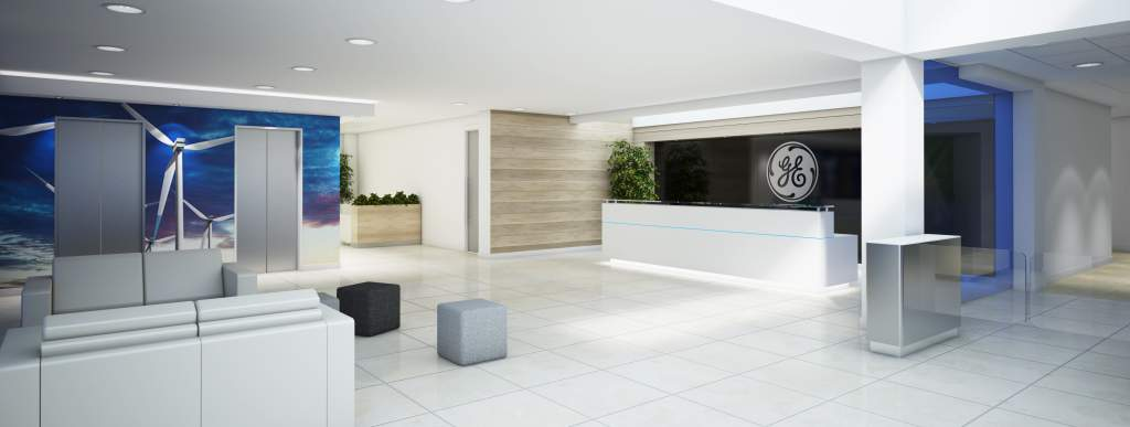 office design for GE Capital