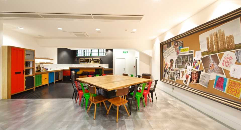 Check Out This Wacky Kitchen At McCann Erickson