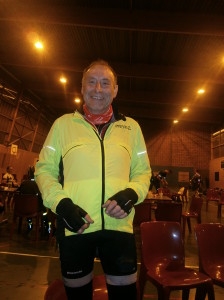Steve's cycle to Paris