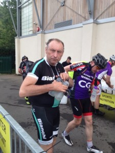Steve's cycle from London to Paris