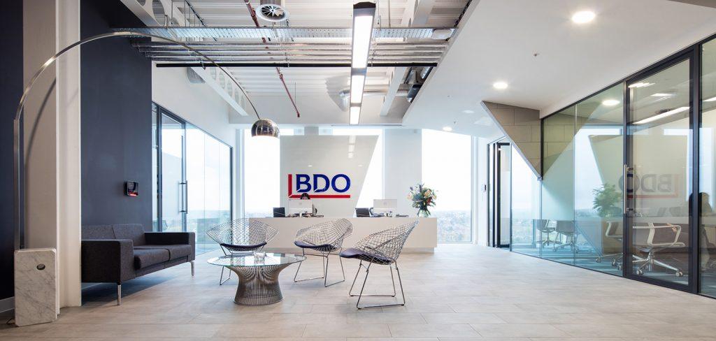 BDO Office reception area