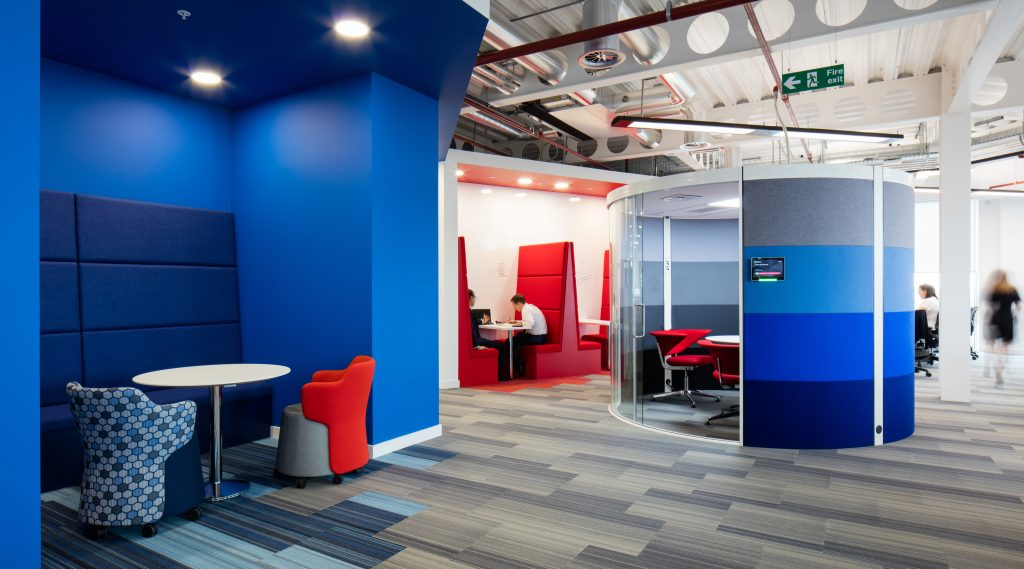 Example of agile office design