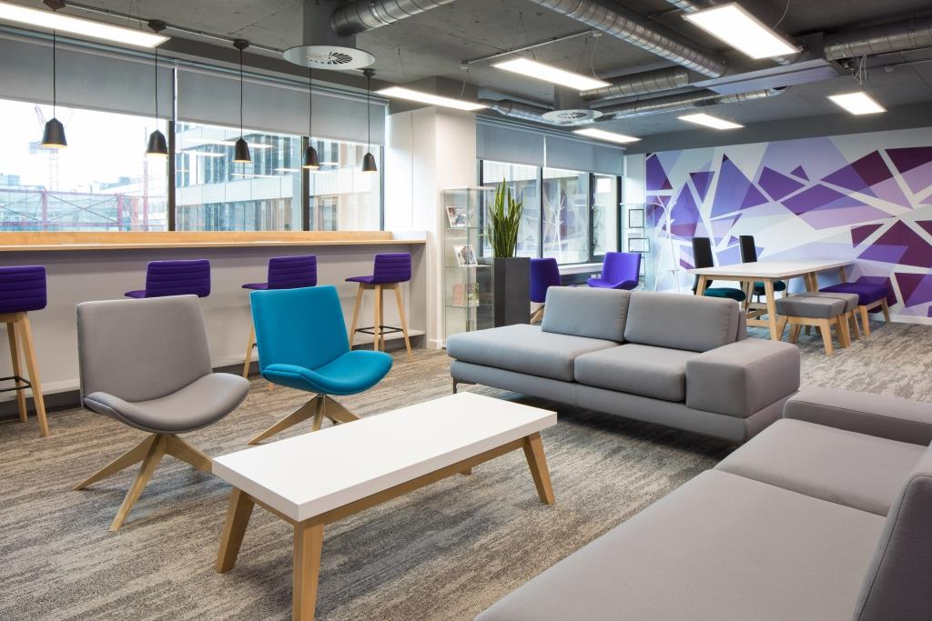 3 Squared soft seating area